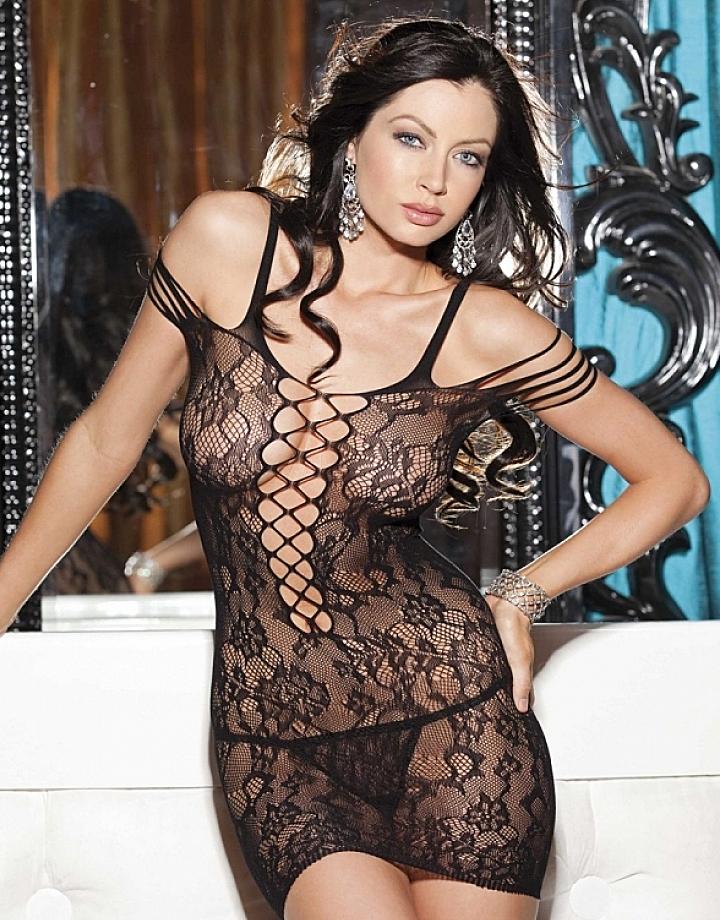 порно платье сетка